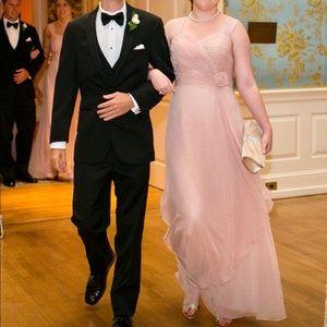Chiffon formal evening gown